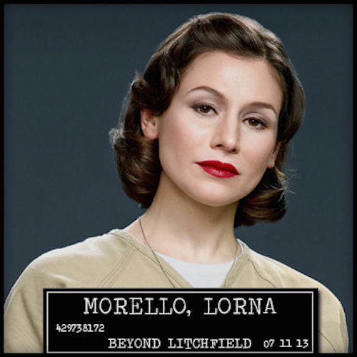 "She may be unlucky in love, but Morello can totally rock ""Spinster Chic."""