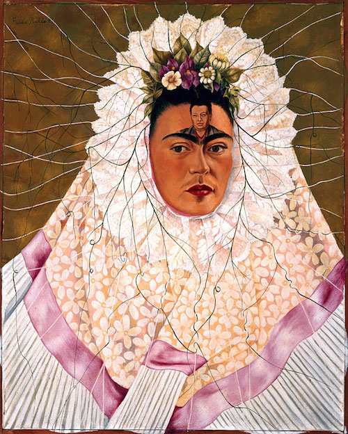 Diego on My Mind, by Frida Kahlo No matter how much pain she caused her, she was never able to escape her love for Diego.