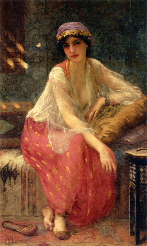 Lenoir_Charles_Amable_Odalisque_ooc_54_5x32-large